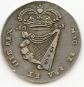 1681 Silver Proof Halfpenny Small Letters Harp of 16 Strings