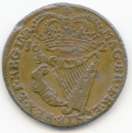 A 1692 Halfpenny of 12 Strings