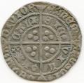 England, Henry VI Pine Cone issue Calais Groat