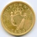 1805 Soho Mint Proof Gilt Penny