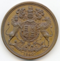 1840 Queen Victoria Peace Medal for Africa and Canada