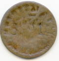 Scotland/Canada 1828 Commerce Farthing Brockage.