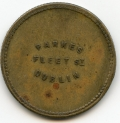 Coffee Palace Pub Token of Dublin