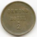 Ormond Hotel Dublin Pub Token