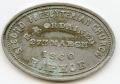 Raphoe, Co. Donegal 1860 Communion Token