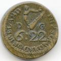Irish 1709 Coin Weight for Moidor