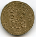 Irish 1760 Coin Weight for Double Pistole