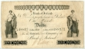 Bank of Ireland Early Medusa Heads One Pound 4 Jan 1842