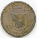 Birmingham Workhouse Copper Token 1812 Cokayne Collection Rarity