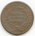 Walthamstow British Copper Company 1812 Penny Token ex Cokayne Collection