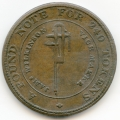 Dudley, Worcestershire, James Wilkinson 1812 Copper Penny Token ex Cokayne Collection
