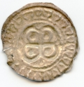 Twelfth Century Hiberno Norse Bracteate Phase VII.B. Silver Penny Rarity